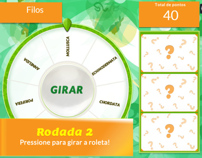 Storyboard para Game Educativo - Roleta Viva