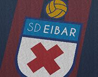 SD Eibar. Rebrand Concept (Personal)