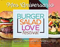 Buger Salad Love Festival