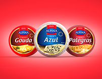 AlpinA Labels Design