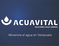 Acuavital Business Card