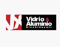 Imagen corporativa: VX Vidrio & Aluminio