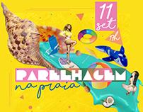 "Flyer e id Visual, festa ""PARELHAGEM"""