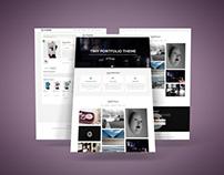 Tiny Portfolio - WordPress Theme