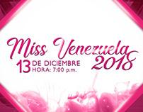 Artes para el Miss Venezuela 2018