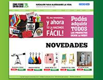 Web de perrocondoscolas.com.ar 2017