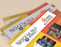 Flyer, Folheto, Folder e Mídia Social