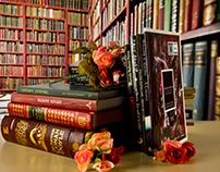Fotografia de livros