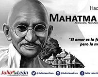 Efemeride Mahatma Gandhi