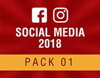 Social Media 2018 - Pack 01