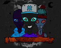 Ilustracao - Alien