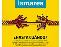 La Marea - Magazine cover
