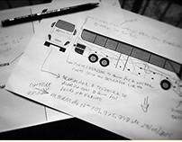 Identidade visual em Frota de Ônibus