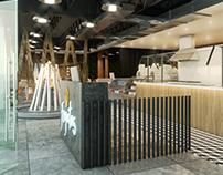 Visualizaciones 3d, Restaurant