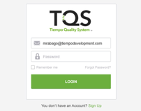TQS Web Application design