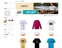 Retoque fotográfico - E-Commerce Reef - SS17