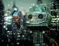 "Diseño de personaje - El robot ""M00G"""