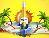 Corona Beer: Facebook post designs