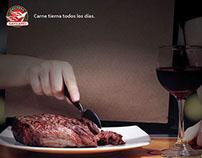 Carne tierna todos los días - Hacienda Gavilanes