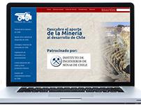 """Sitio Web """"Minería en Chile"""""""