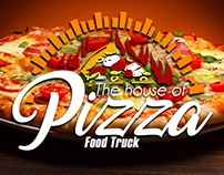 The house of Pizza - Logotipo