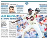 Diseño Editorial Hoy Diario del Magdalena