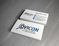 Cartões de visita - Ovicon