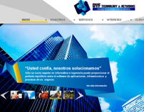 Web Designs / Diseño Web para DYF TECHNOLOGY & NETWORKS