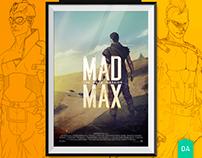 Digital Art | MAD MAX - The Road Warrior