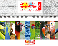 Calendario Aves Colombia 2016