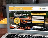Renault Landing Pages