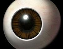 Modelagem 3D: olho