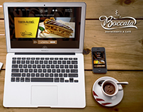 WebSite - Restaurante e Café Boccata