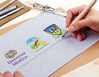 Renovação de Logo - Universo Místico 2015