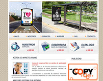 Web Site Corporativo , Impacto Urbano.