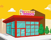 Animations | Dunkin' Donuts
