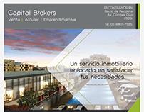 Publicidad para revista - Capital Brokers