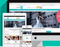 Web App bodanovia.pe | Responsive Website Premium