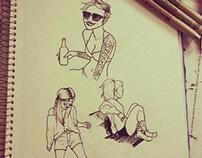 Sketchs / p&b