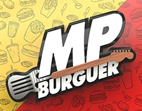 Hamburgueria - MP Burguer Identidade visual