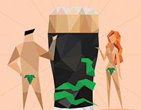 Afiche concurso Arte Único - Fernet Branca
