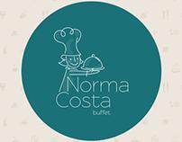 Norma Costa Buffet   Branding