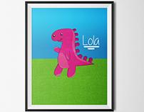 Lola - A Dinossauro Valente