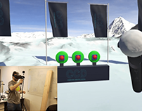 DEMO SNOWBALL HTC VIVE + UNITY3D