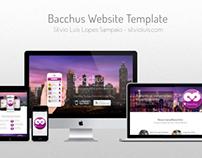 Bacchus Website Template