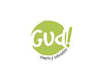 GUD - Diseño de Identidad - Papelería - Merchandising