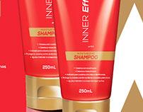 Criação de Produto Shampoo Inner Effect Glamourama