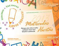Folder para Pré Escola Lápis Mágico