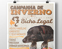 Cartaz ONG Bicho Legal