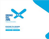 Drono del aire